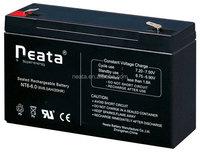 hot model 6v 6ah sealed gel battery for golf