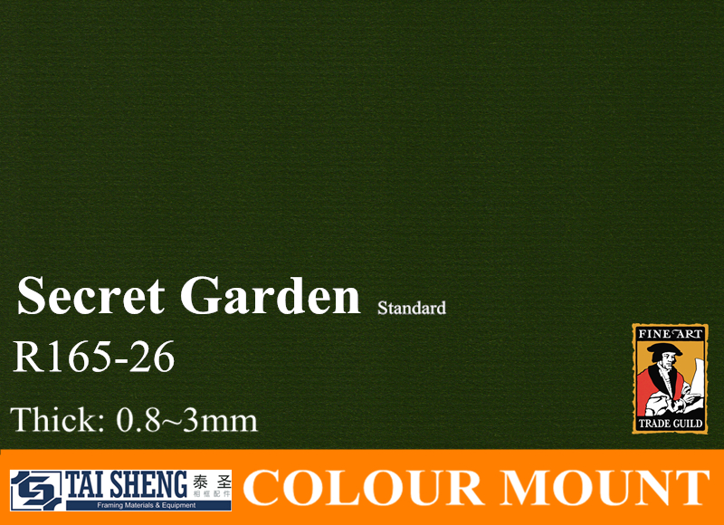 Mat Board In Frame Secret Garden Buy Mat Board Garden