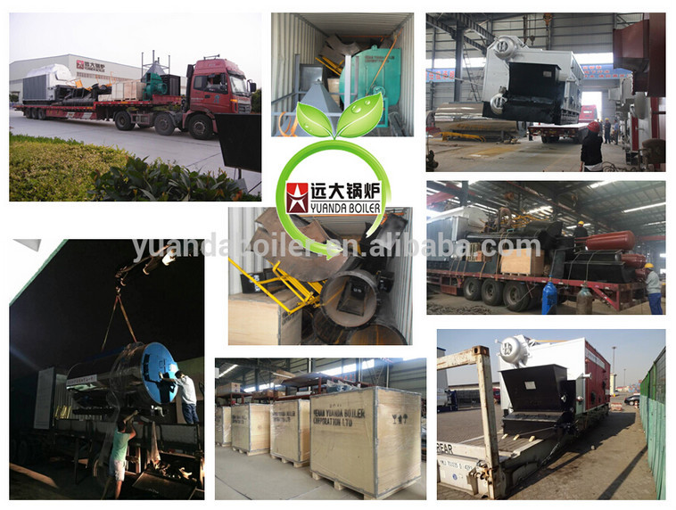 steam boiler in food processing industry