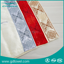 Textile factory wholesales cotton fabric face cloth gift towel with attractive design