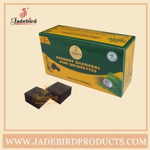 CC-10 84pcs Jadebird coconut charcoal for shisha