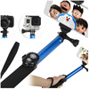 extraordinary Extendable Handheld selfie stick pole + tripod mount
