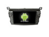 Quad core!car dvd with mirror link/DVR/TPMS/OBD2 for 8 inch touch screen quad core 4.4 Android system TOYOTA RAV4
