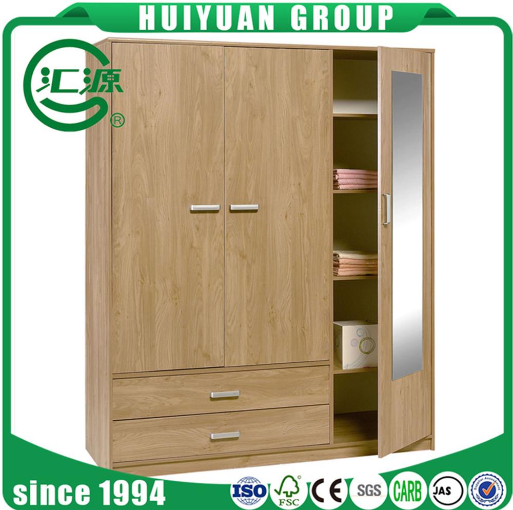 Home Furniture Wood Almirah Designs 4 Door Wardrobe Cabinet Cheap ...