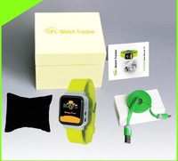 GPS +LBS location CCTR-630 GPS Watch Tracker for Children, baby mini special watch tracker, free web tracking platform