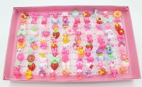 Wholesale HL-0217 Colorful Magnetic Finger Ring Clear Carton Ring