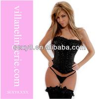 Black Diamond Faux Leather Corset,sxxxl sexy leather corset