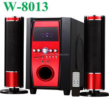 hot sale 2.1 speaker repair kit with USB/SD/FM/2MIC/REMOTE CONTROL/LED DISPLAY