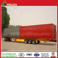 Lorry box truck van/ cargo van semi truck/commercial semi trailer and vans