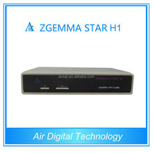 Zgemma star H1 with two tuner DVB-S2 DVB-C digital satellite and tv tuner with common interface