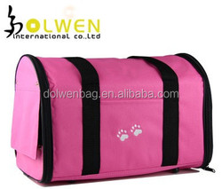 Durable pet carrier bag dog products dog travel carriers