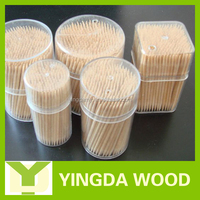 Hot sale high quality white toothpick container