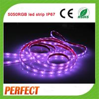 2015 best selling ! 30 leds/m 5050 flexible waterproof rgb led strip 24v P36W/5m led strip light in Shenzhen