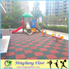 China supplier safety rubber playground floor