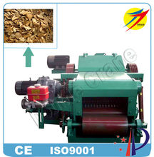 Automatic Drum Waste Wood Cotton Pallet Bamboo Chipper