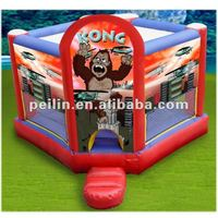 2012 new inflatable king kong bouncer