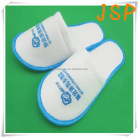 One Time Used Piping Slipper Shoes For Hotel Bathroom