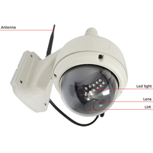 Easyn 1BF outdoor high speed dome wireless wifi 5x optical zoom ip camera