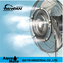 Plastic Removable DIY Home Water Misting Fan