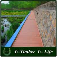 Green easy processing outdoor composite decking material
