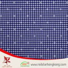 Pilling resistance blue floral jacquard fabric
