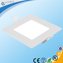 Design uniforme escritório led luz do painel de smd ultra slim 9 w 15 w 18 w praça painel de led light el painel de luz