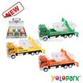 novos moda brinquedo da fricção caminhão de lixo do caminhão de brinquedo