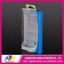 Custom fancy mobile case clear retail packaging box,high quality phone case packaging box