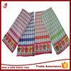 Factory supply 100% cotton super absorbent bright color kitchen tea towel