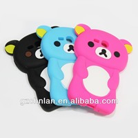 For iphone/samsung silicon 3d cases for iPhone 5 case/accept small mix order