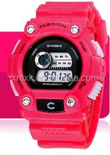 wholesale waterproof cool led digital sports kid watch