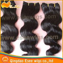 Top grade aaaaa 100% peruvian virgin hair body wave hair weft natural color