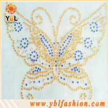 butterfly hot fix rhinestone transfer motif templates