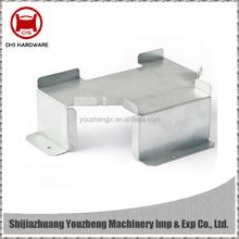 Galvanized steel laser cutting bending sheet metal fabrication