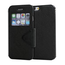 LZB new product pu leather fashion flip phone cover for micromax BOLT A24 case