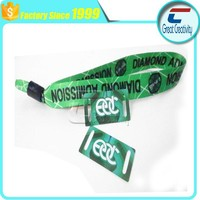 13.56mhz custom disposable festival fabric rfid wristbands for circulation