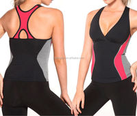 Sexy 86%nylon 14%spandex dry fit jogging suit ladies sports wear