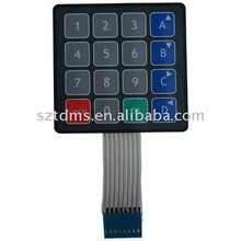 4*4 Matrix 16 keys Membrane Keypad Keyboard