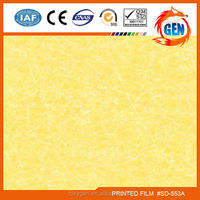 15-year warranty marble patterns reusable PVC film system for hotel walls