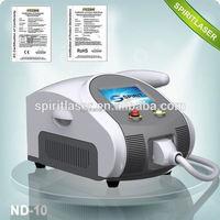 Best China hot sale!! Super Fast Color Touch Screen Tattoo removal machine gun 10HZ