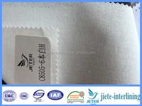 cotton shirt collar fusing interlining C8505