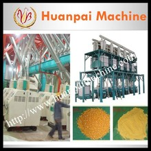 100ton per day maize milling machine/maize grits machine/corn flour mill