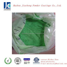 cheap green dry powder paint and coating