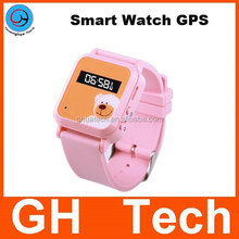 GH G-W302 watch gps tracker kids waterproof with watch gps and sos