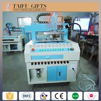 Customized full automatic pvc keychain /photo frame /coaster making machine