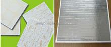 Geprägte holzmaserung dekorative& Interieur wandpaneel pvc Decke/wandverkleidung