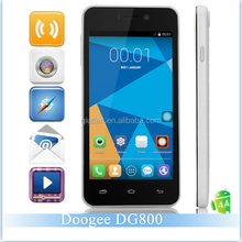 DOOGEE VALENCIA DG800 smartphone MTK6582 Quad Core Android 4.4 Dual Sim Card 1GB RAM 8GB ROM 13MP 3G Mobile Phone DOOGEE DG800
