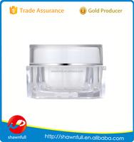 high quality clear plastic jar cosmetic jar cream jar 20g