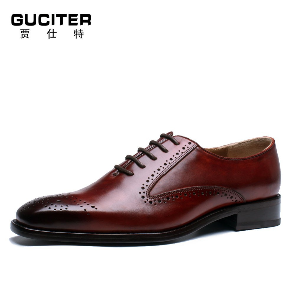 italian s leather shoes brush color goodyear welt