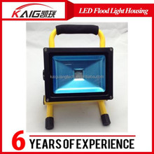 low price flood light housing 50W 8H working time rechargeable portable led flood light housing